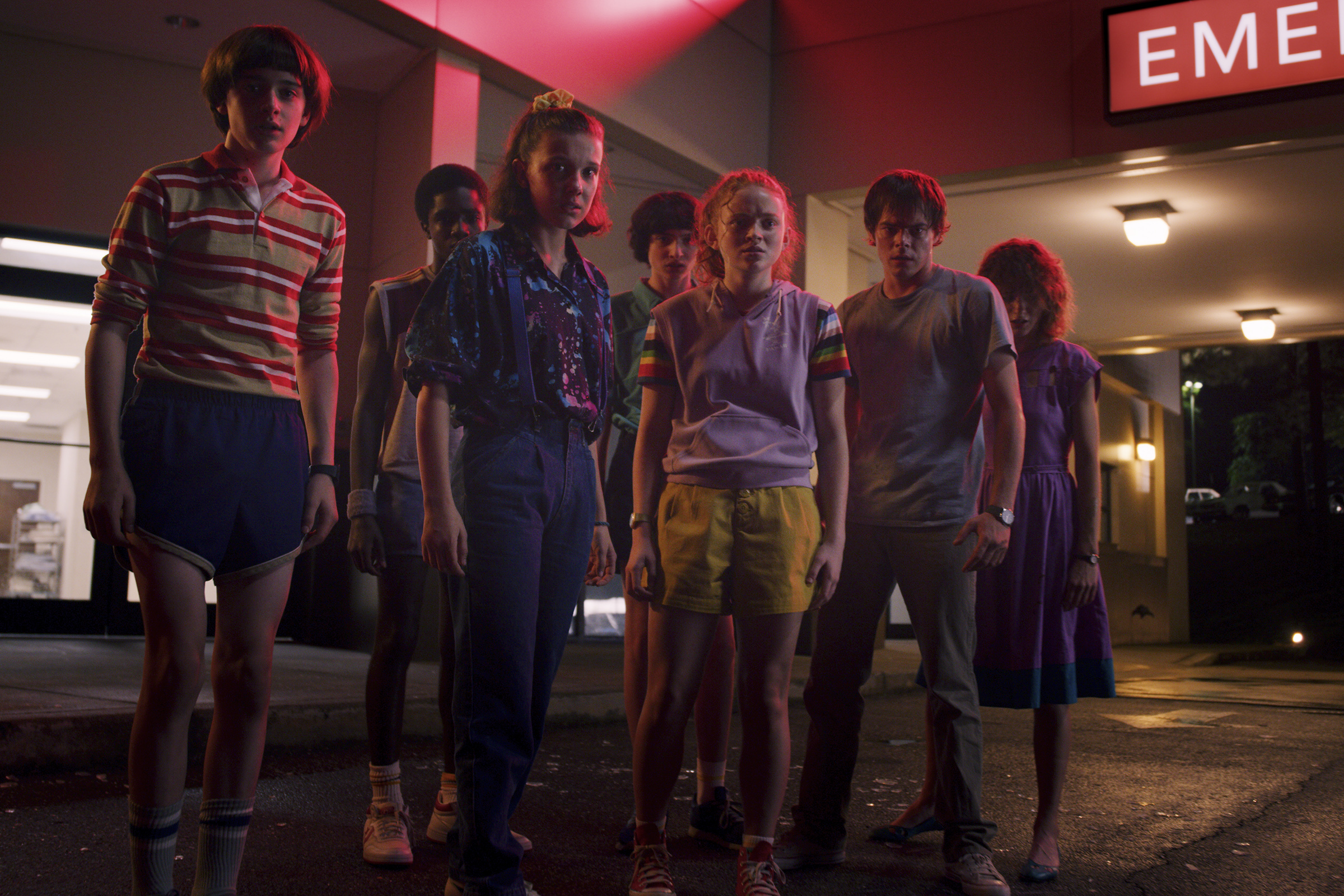 The kids of Stranger Things Season 3