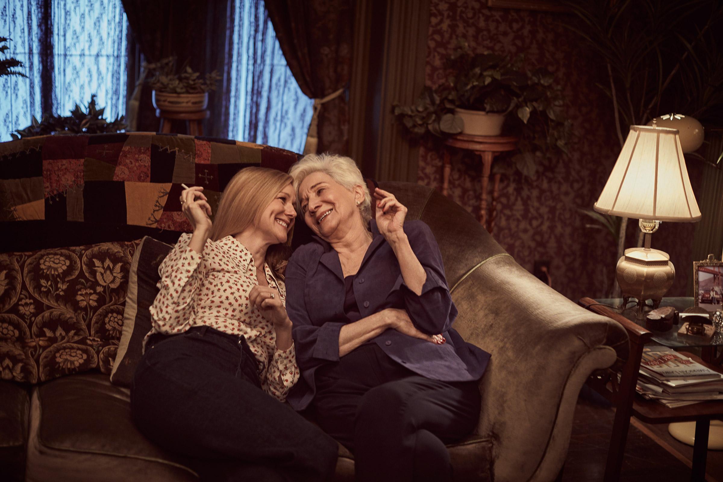 Mary Ann (Linney) and Anna (Dukakis) tell new Tales
