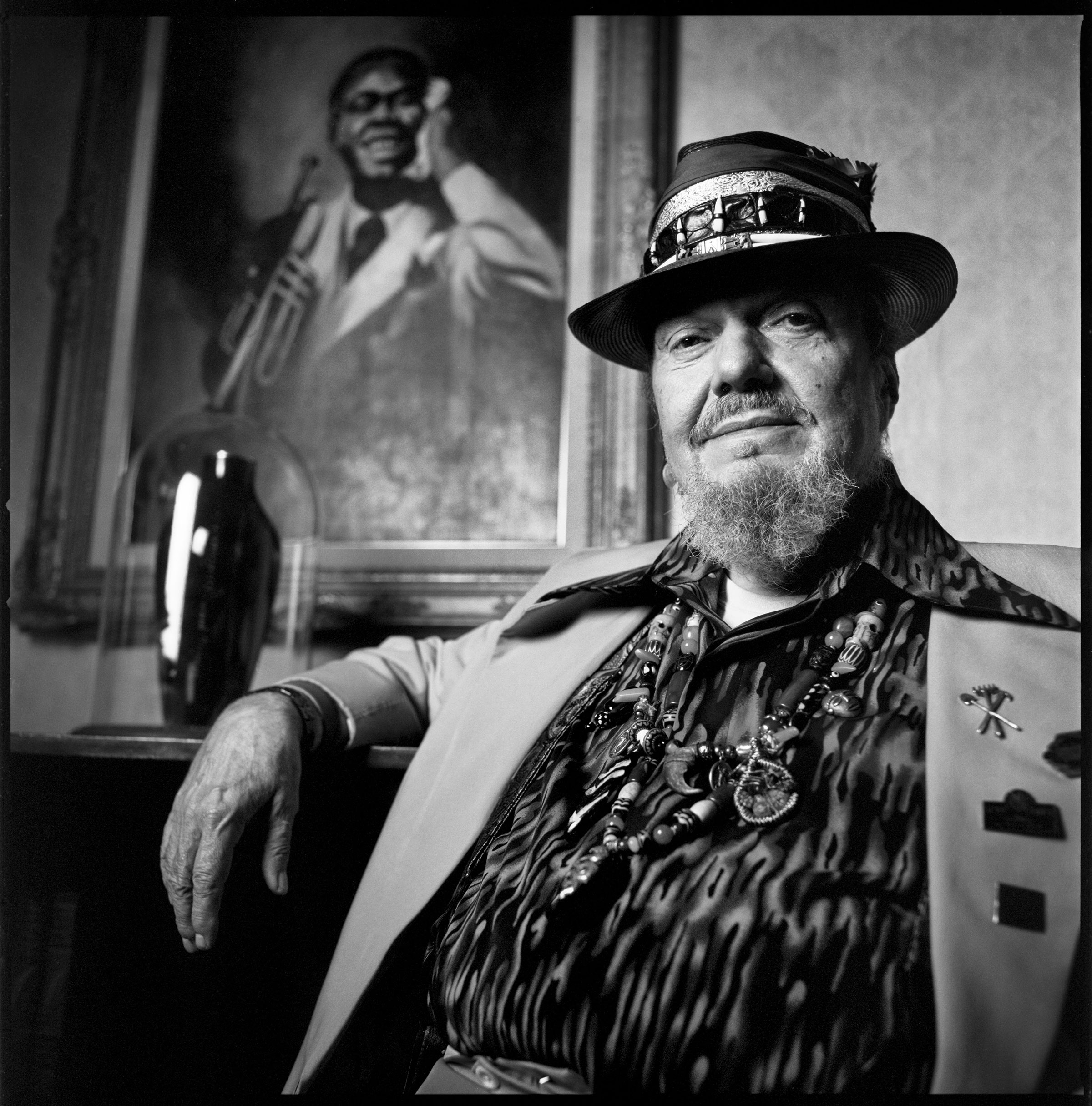 Dr. John, seen here in 2014, released his first album, Gris-Gris, in 1968 and was inducted into the Rock and Roll Hall of Fame in 2011.