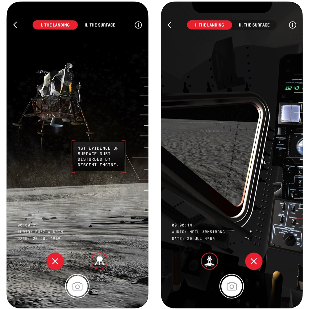 Welcome to TIME Immersive's Apollo 11 'Landing on the Moon' Experience