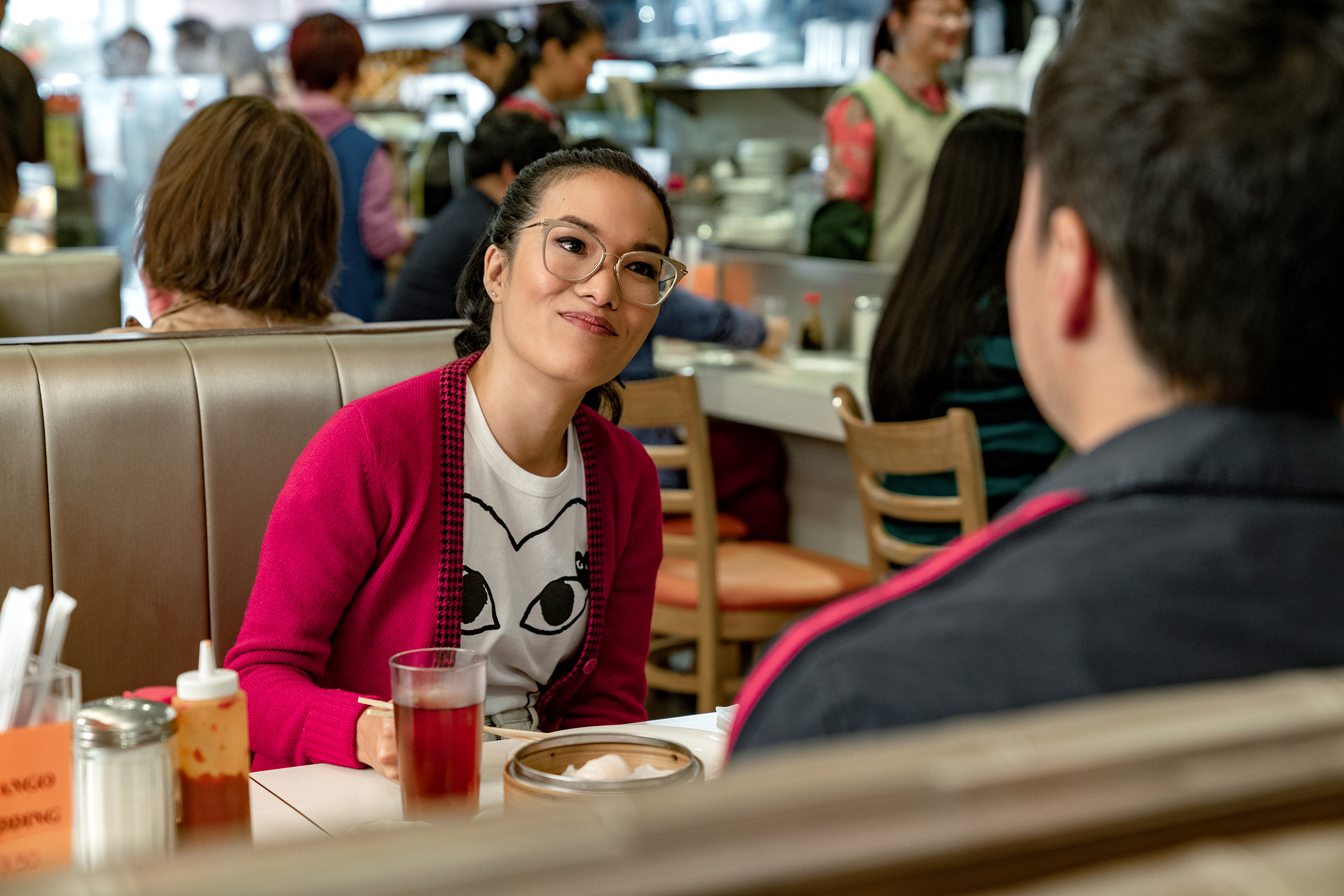 Ali Wong and Randall Park in Netflix's 'Always Be My Maybe'.