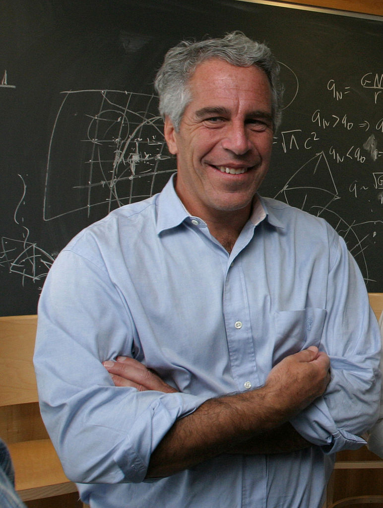 Jeffrey Epstein in Cambridge, MA in September 2004. Ohio State University announced that it was reviewing donations made by Jeffrey Epstein and any organizations related to him.