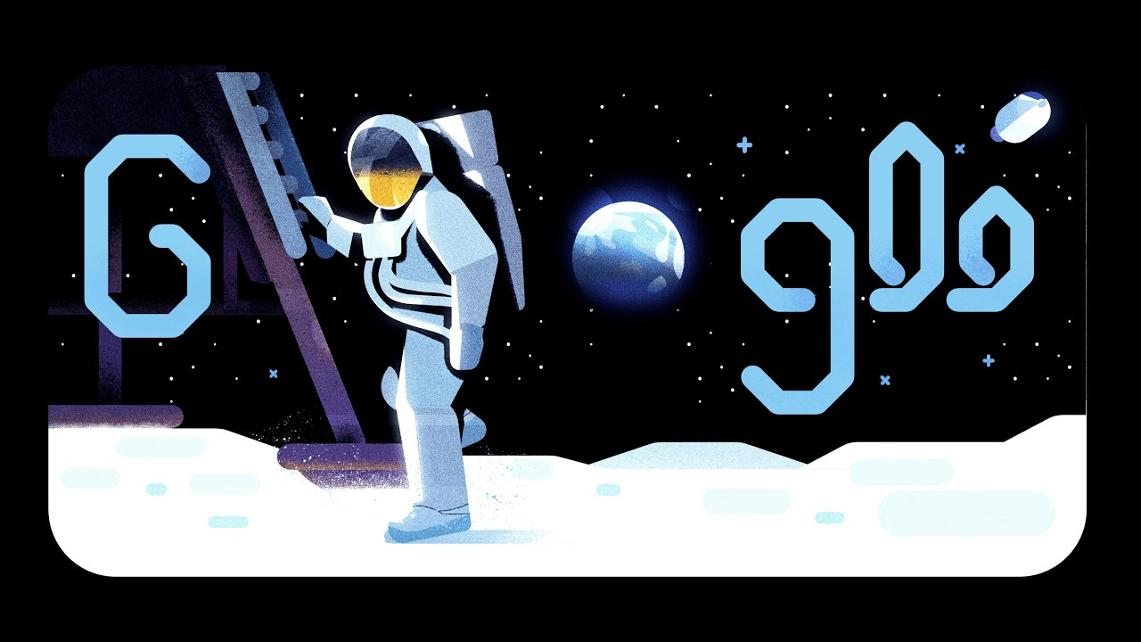 Google celebrated the 50th anniversary of the  moon landing with a Google Doodle on Friday, July 19, 2019 narrated by Apollo 11 astronaut Michael Collins.
