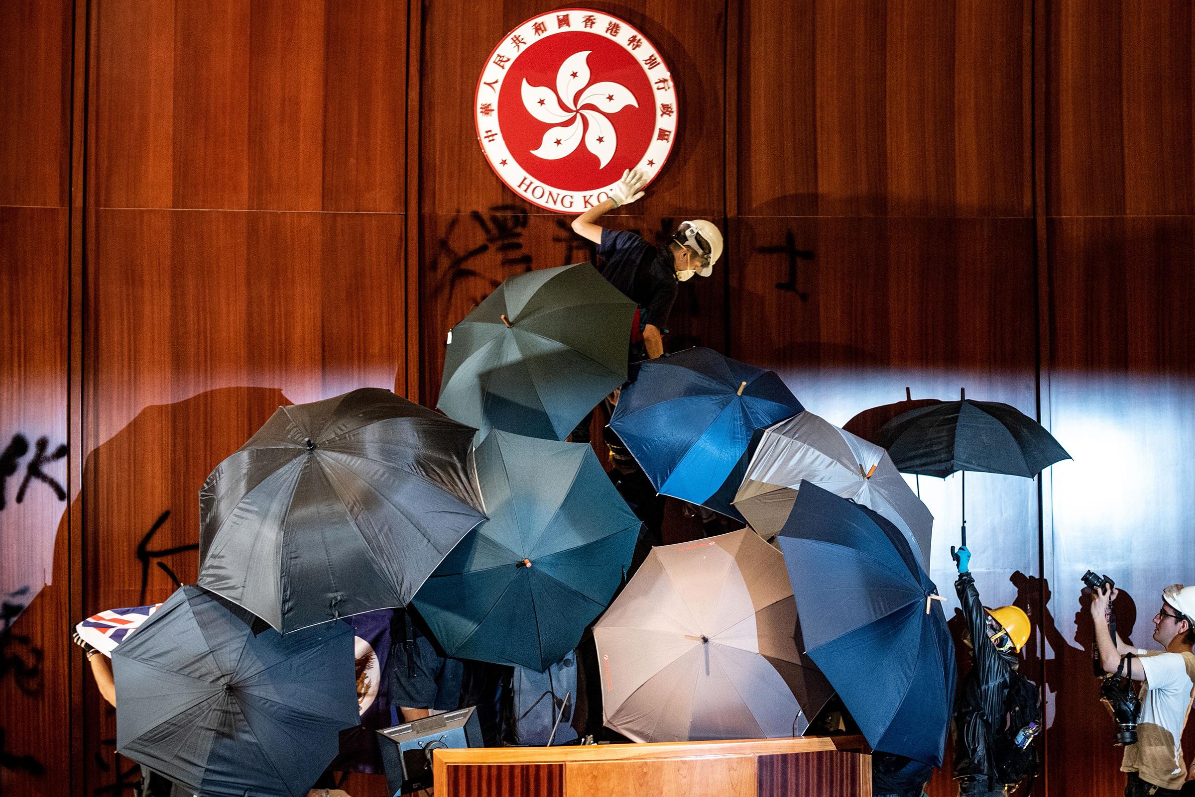 Clashes Disrupt Anniversary of Hong Kong's Handover to China | Time