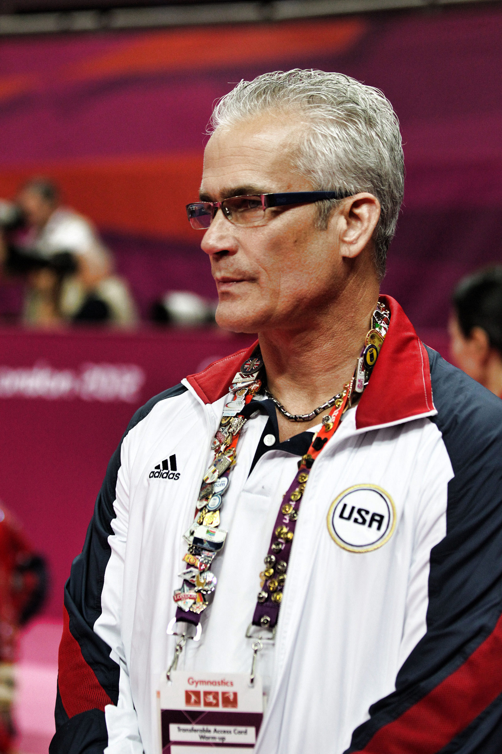 John Geddert at the 2012 Olympics.