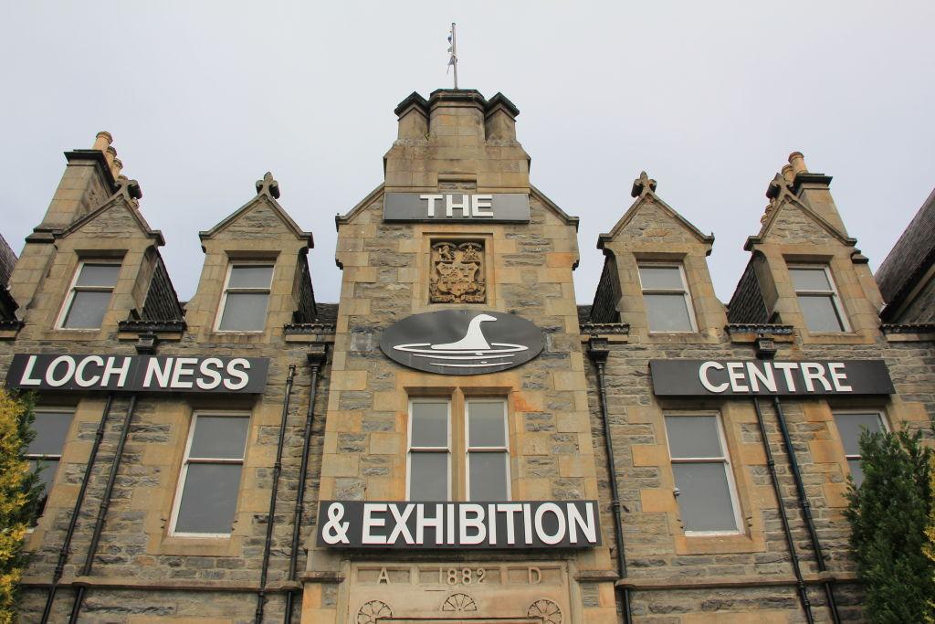 The Loch Ness Centre in the Scottish village of Drumnadrochit on June 26, 2018.