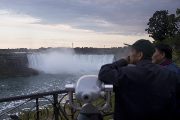 Man Survives Being Swept Over Niagara Falls Time