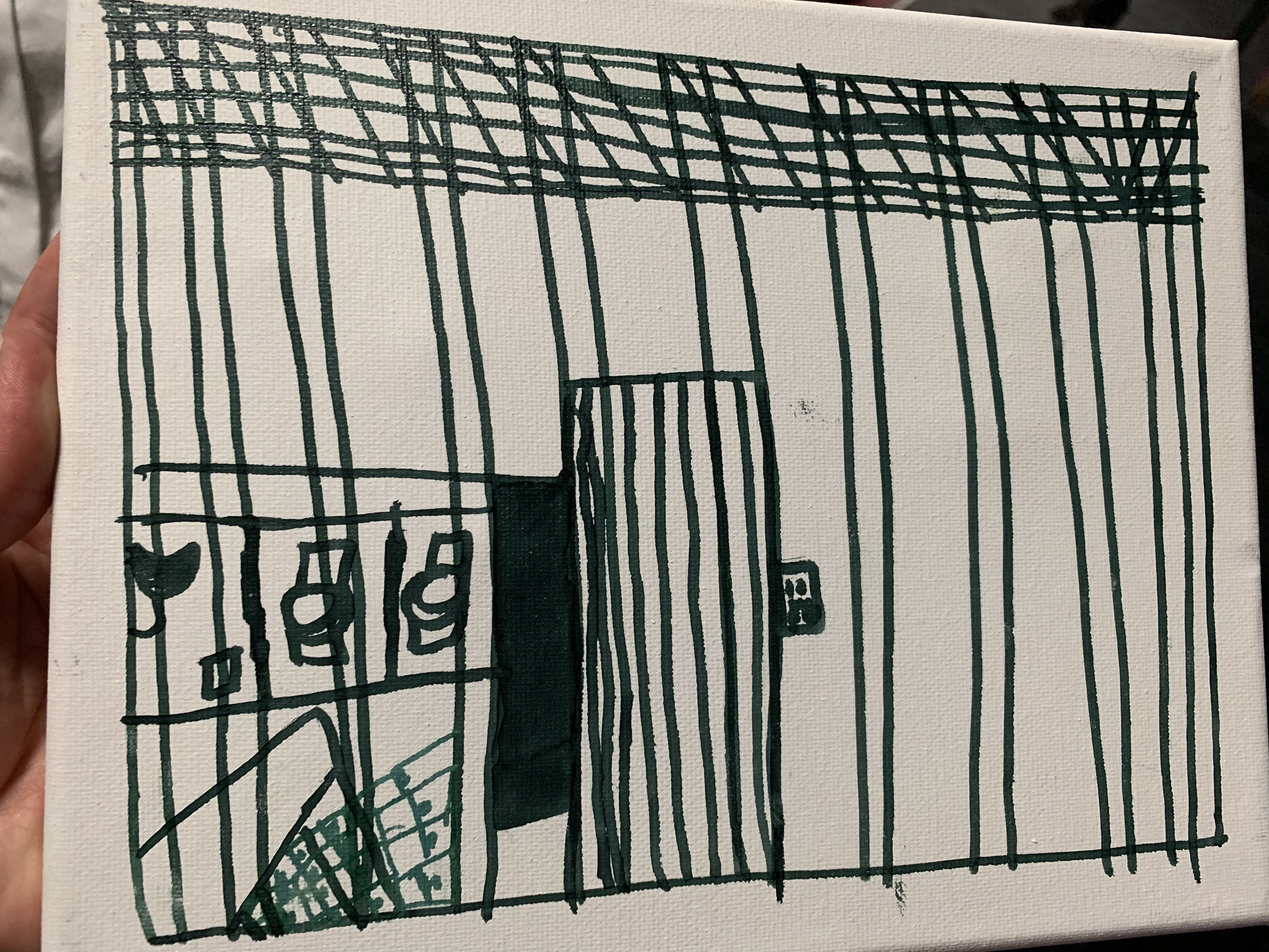 The AAP released drawings by migrant children depicting the conditions inside Border Patrol detention facilities.