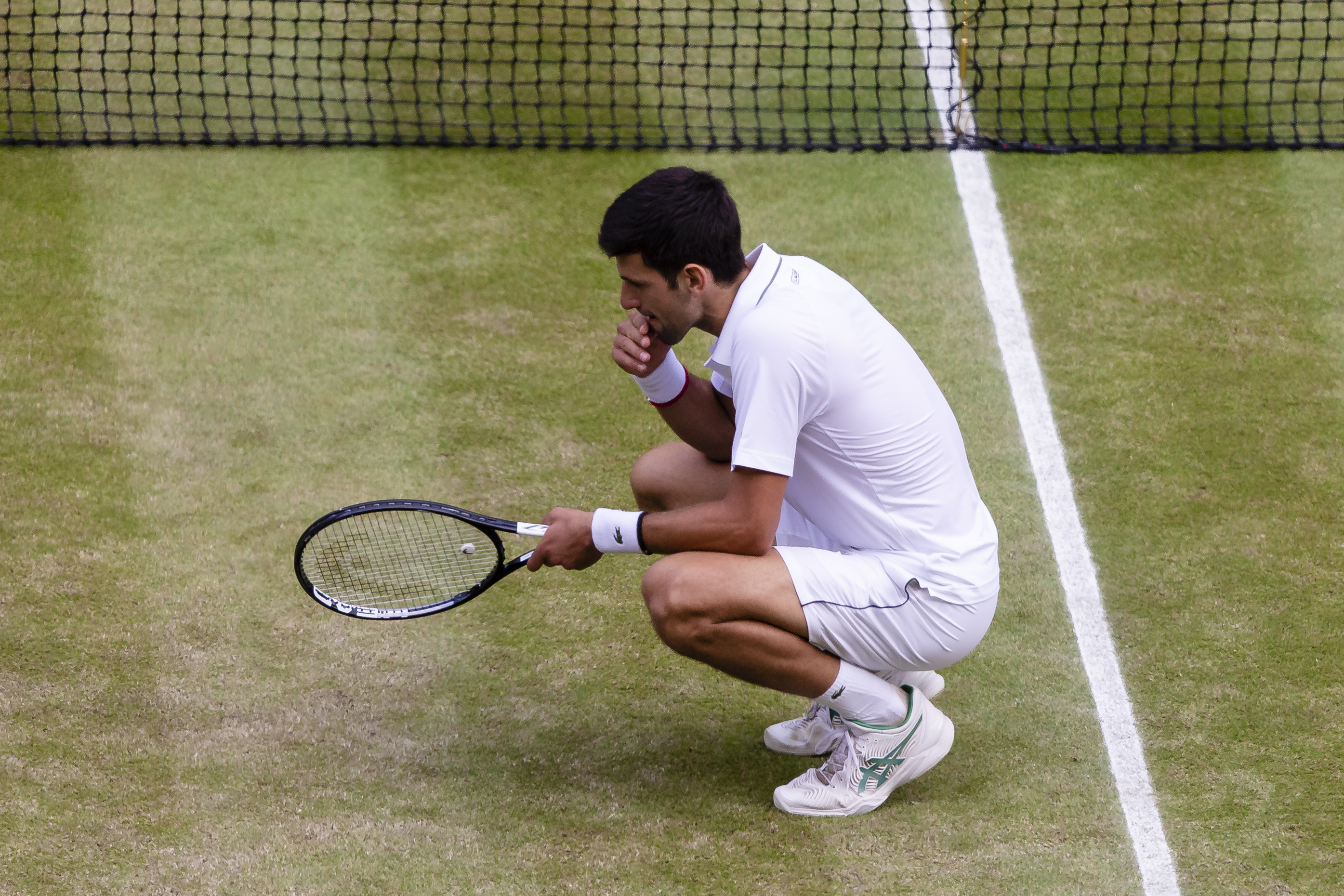 Novak Djokovic Ate Grass To Celebrate His Wimbledon Win Time