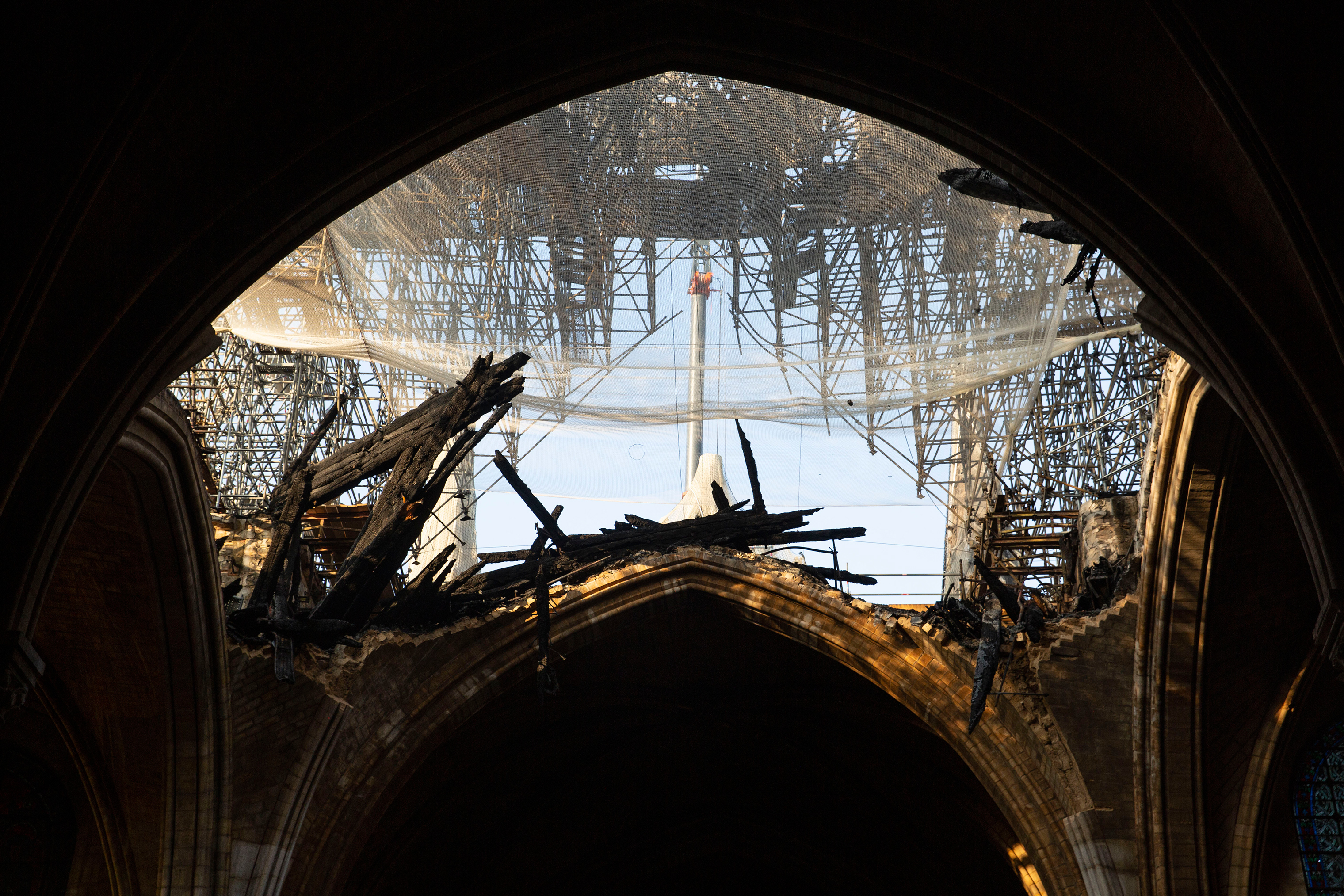 What Notre Dame Cathedral Looks Like Months After Fire Time