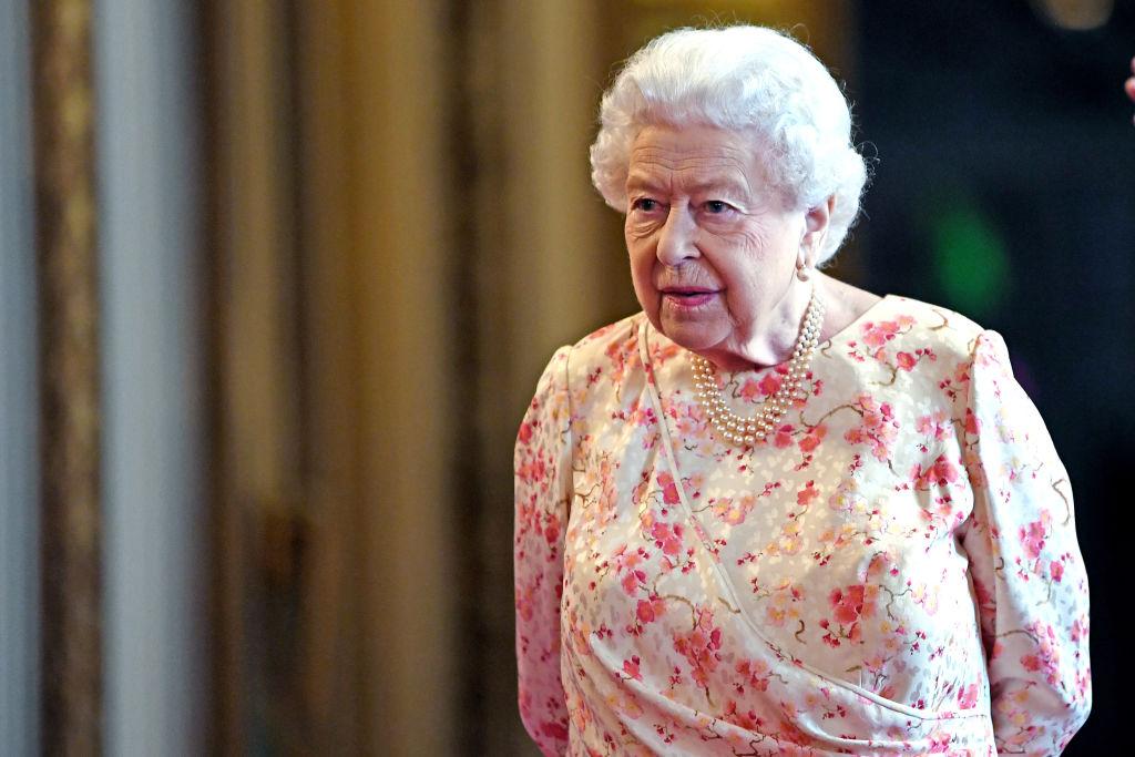Queen Elizabeth II on July 17, 2019 in London, England.