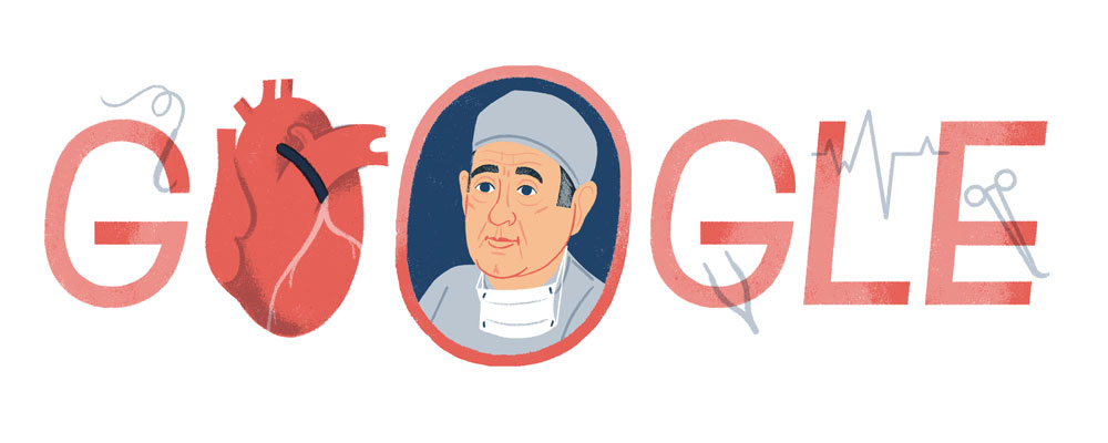 Google celebrates what would have been Renée Favaloro's 96th birthday on Jul. 12, 2019.