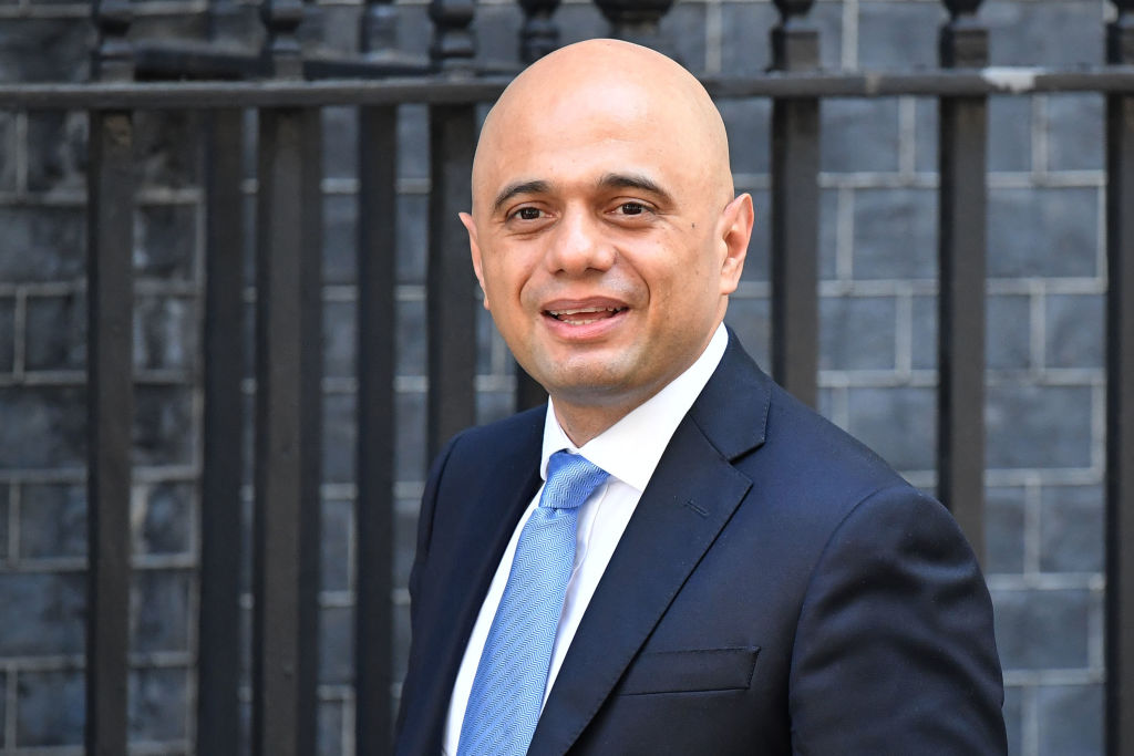 Sajid Javid, the U.K.'s new Chancellor of the Exchequer