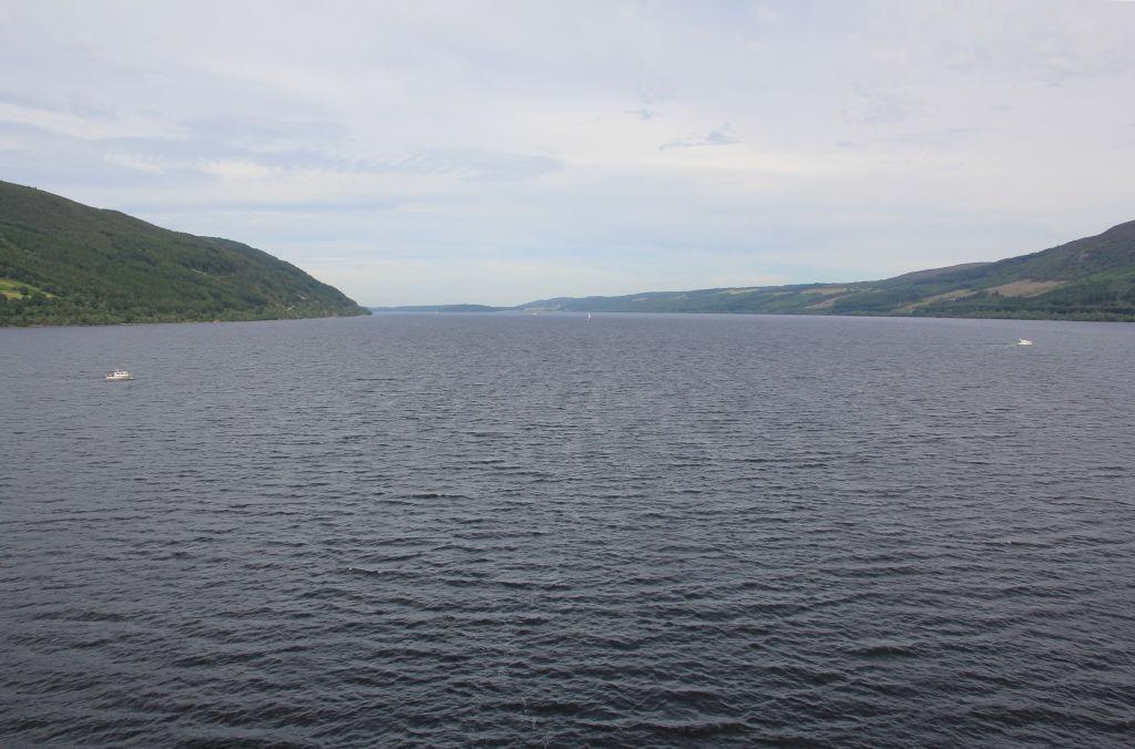Loch Ness on June 26, 2018.