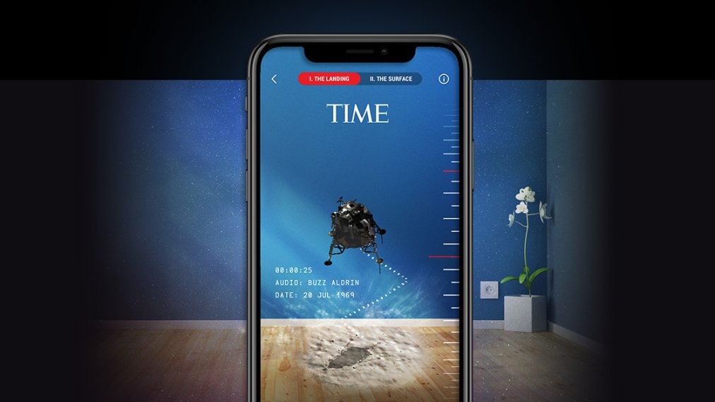 TIME Launches New Augmented Reality and Virtual Reality App