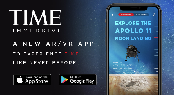 Download the TIME Immersive app