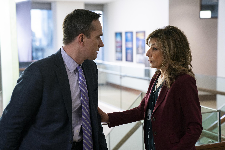 Matthew Macfadyen and Jeannie Berlin in Season 2, Episode 4 of 'Succession.'