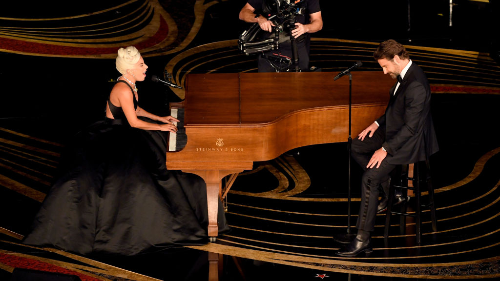 Lady Gaga and Bradley Cooper perform onstage during the 91st Annual Academy Awards at Dolby Theatre on February 24, 2019 in Hollywood, California. The Academy relied on performances and presenters to have a smooth show, despite there being no host.