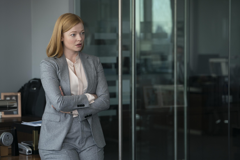 Sarah Snook in Season 2, Episode 4 of 'Succession.'