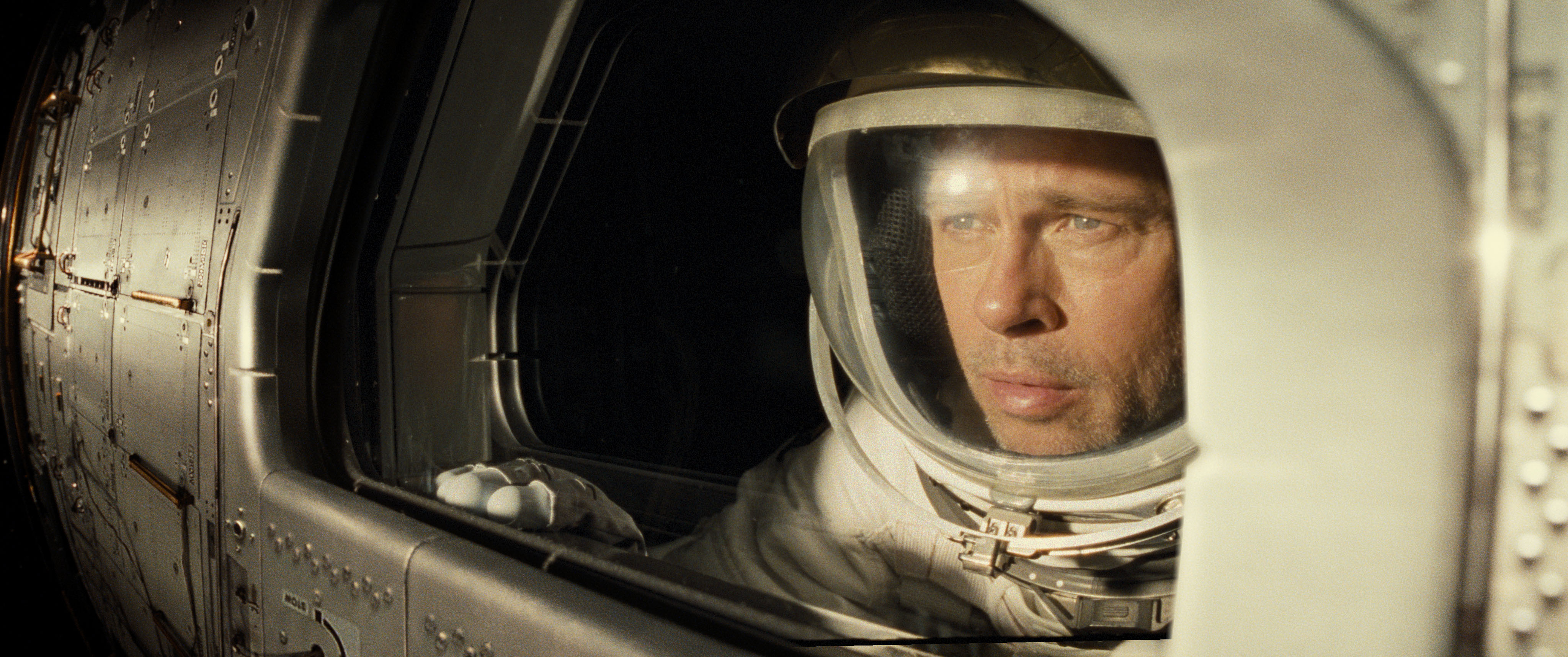 Brad Pitt plays a stoic astronaut who can handle space but not his own feelings in 'Ad Astra.'