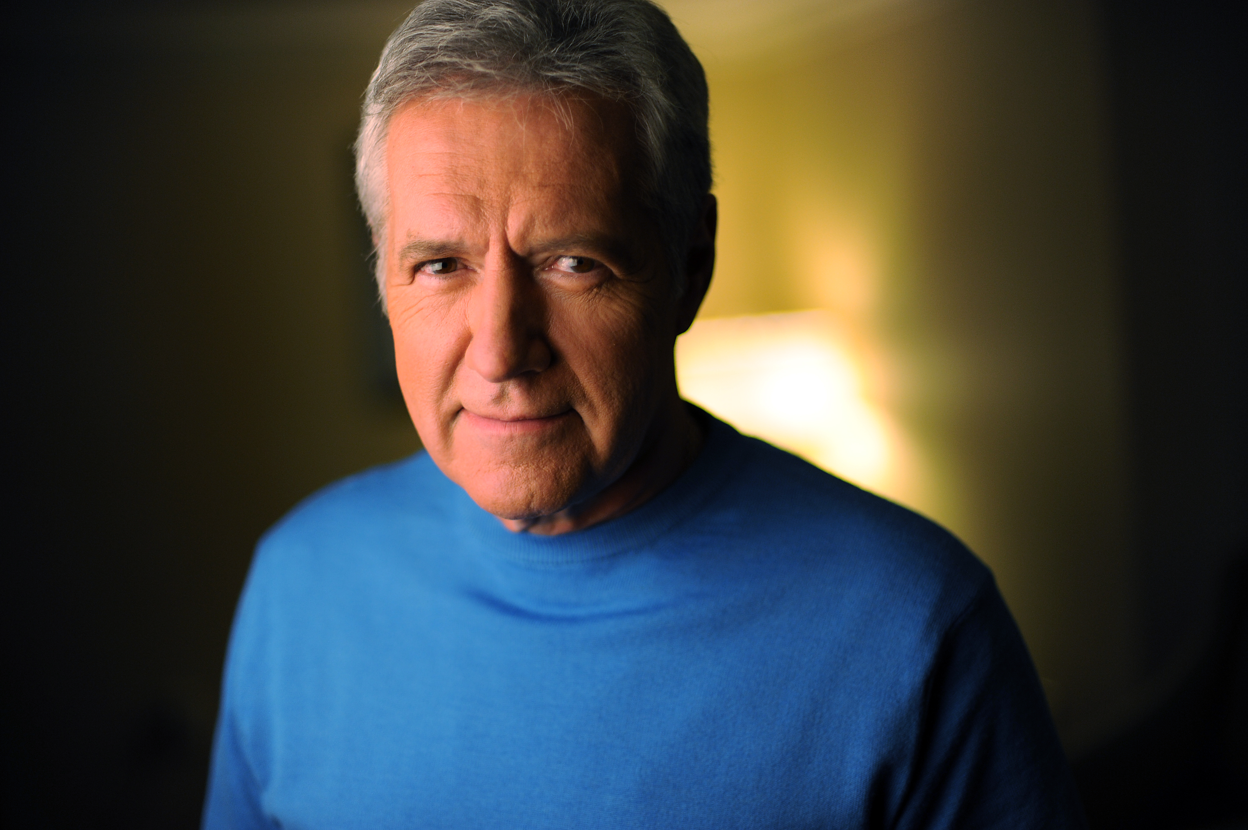 WASHINGTON, D.C., APRIL 17, 2012: Canadian American television star Alex Trebek has been the host of the syndicated game show Jeopardy! since 1984.