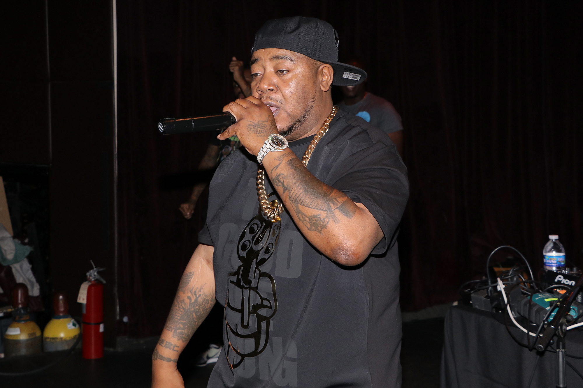Twista performs at the Yeezy Taught Me In Concert in New York on July 14, 2017.