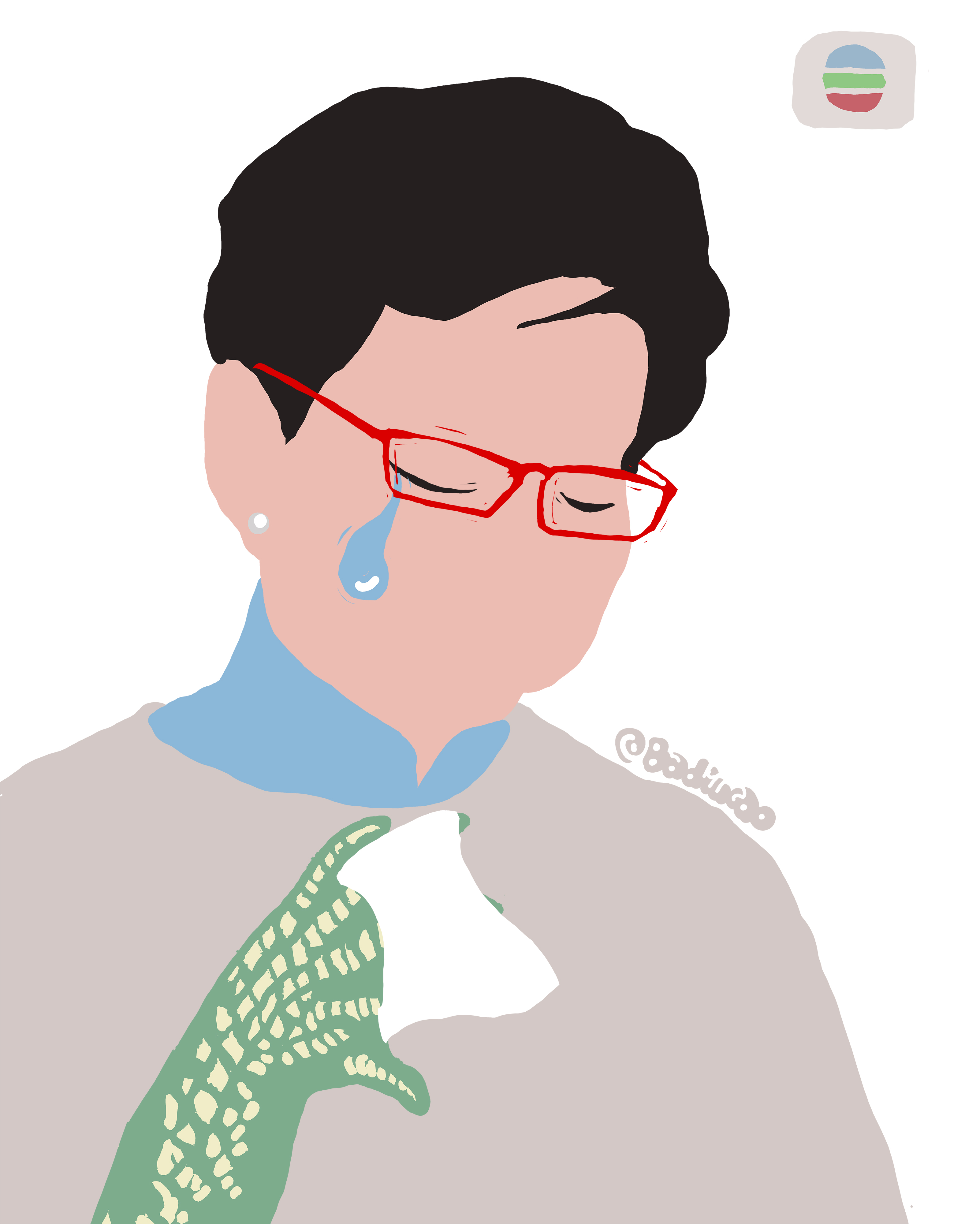 A Badicao cartoon depicting Carrie Lam, Hong Kong's Chief Executive