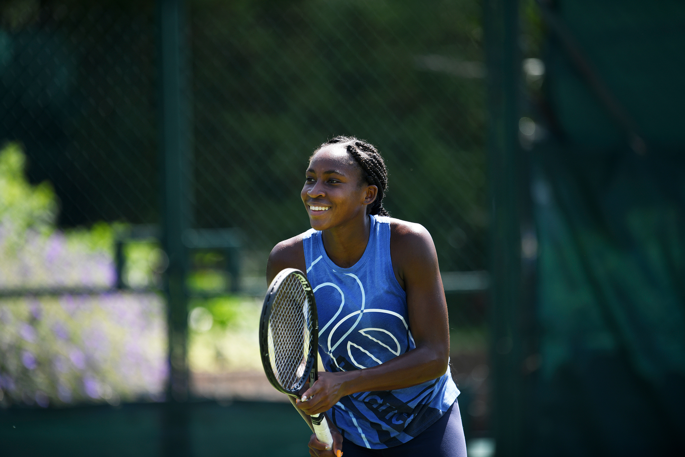 """I learned that I'm capable of a lot of things. I��learned to fight,"" Coco Gauff, describing lessons from Wimbledon, where she advanced to the fourth round."