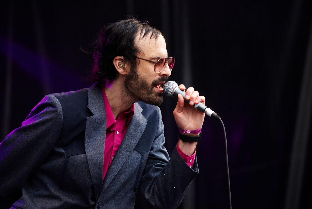 David Berman performs on stage in Barcelona, Spain on May 31, 2008.