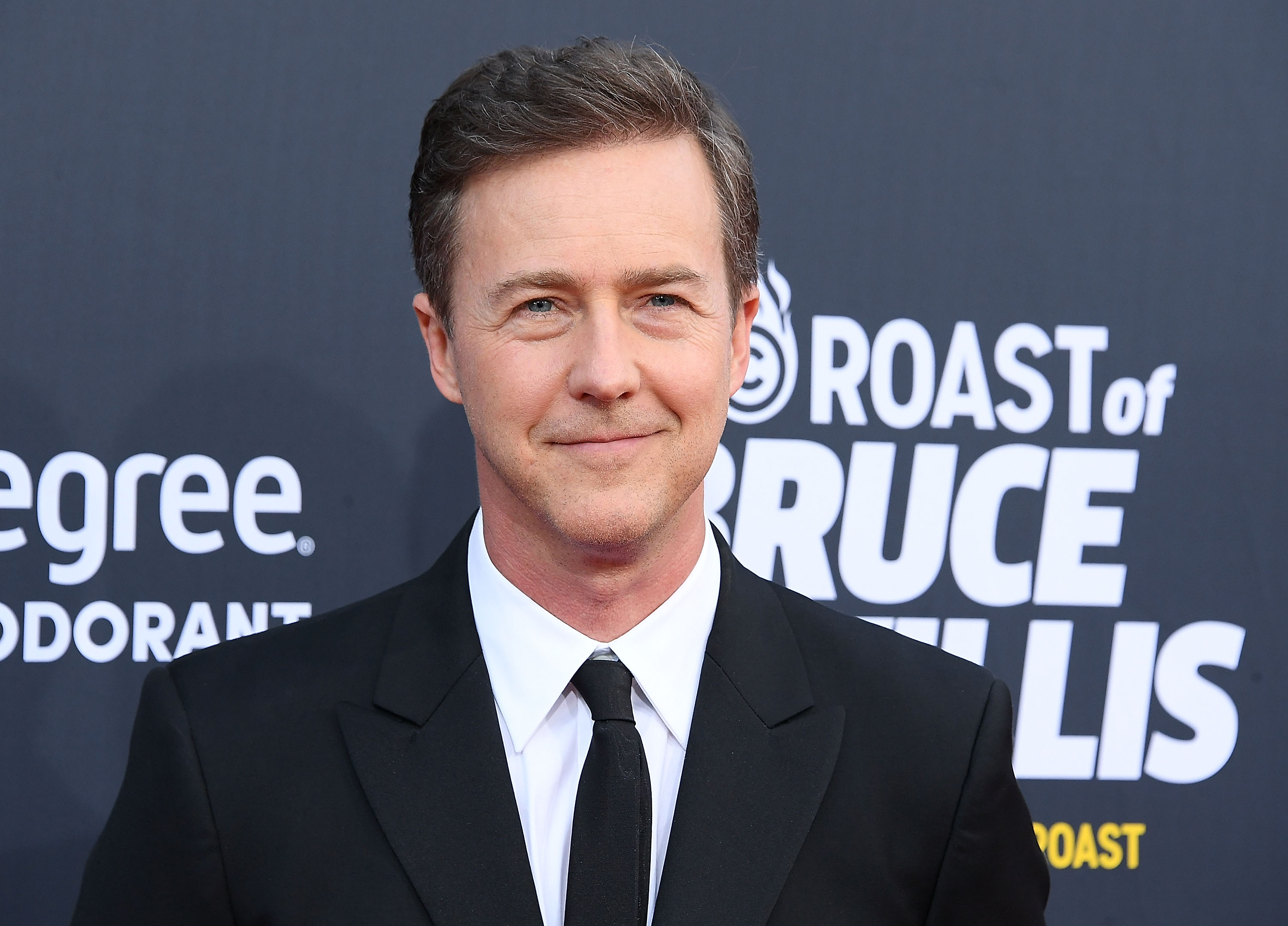 Edward Norton at the Comedy Central Roast Of Bruce Willis on July 14, 2018 in Los Angeles, California.