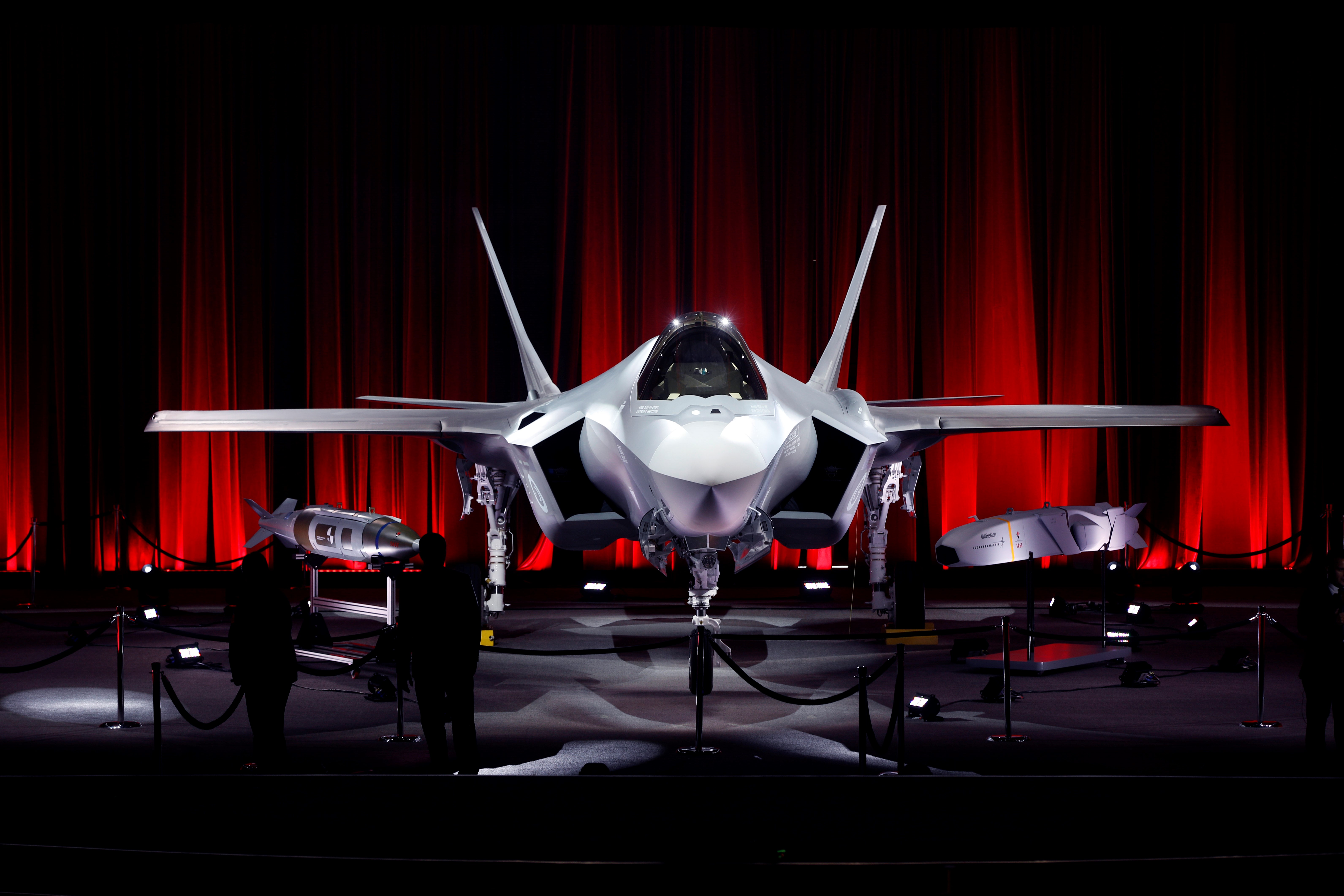 Pictured here is the first F-35 stealth fighter jet that was destined for Turkey. In July, the U.S. canceled Turkey's order for the advanced jet after it took delivery of an S-400 Russian missile system.