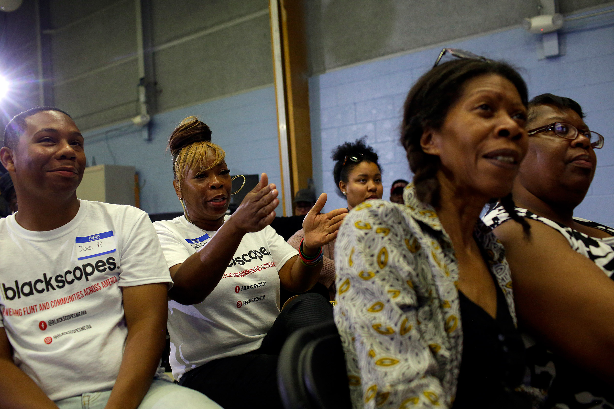 The voters at the watch party hosted by Black Voters Matter— a voter mobilization and advocacy organization— seemed intrigued by less mainstream Democrats, like businessman Andrew Yang and Rep. Tulsi Gabbard.