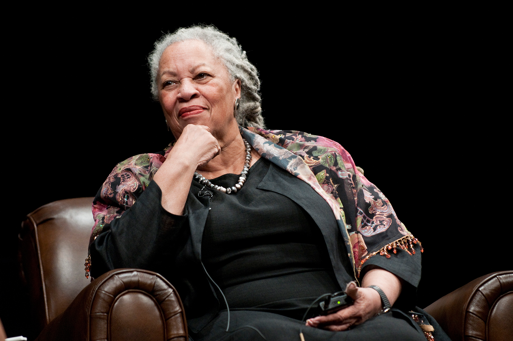 Toni Morrison attends the Carl Sandburg literary awards dinner at the University of Illinois at Chicago Forum on October 20, 2010 in Chicago, Illinois.