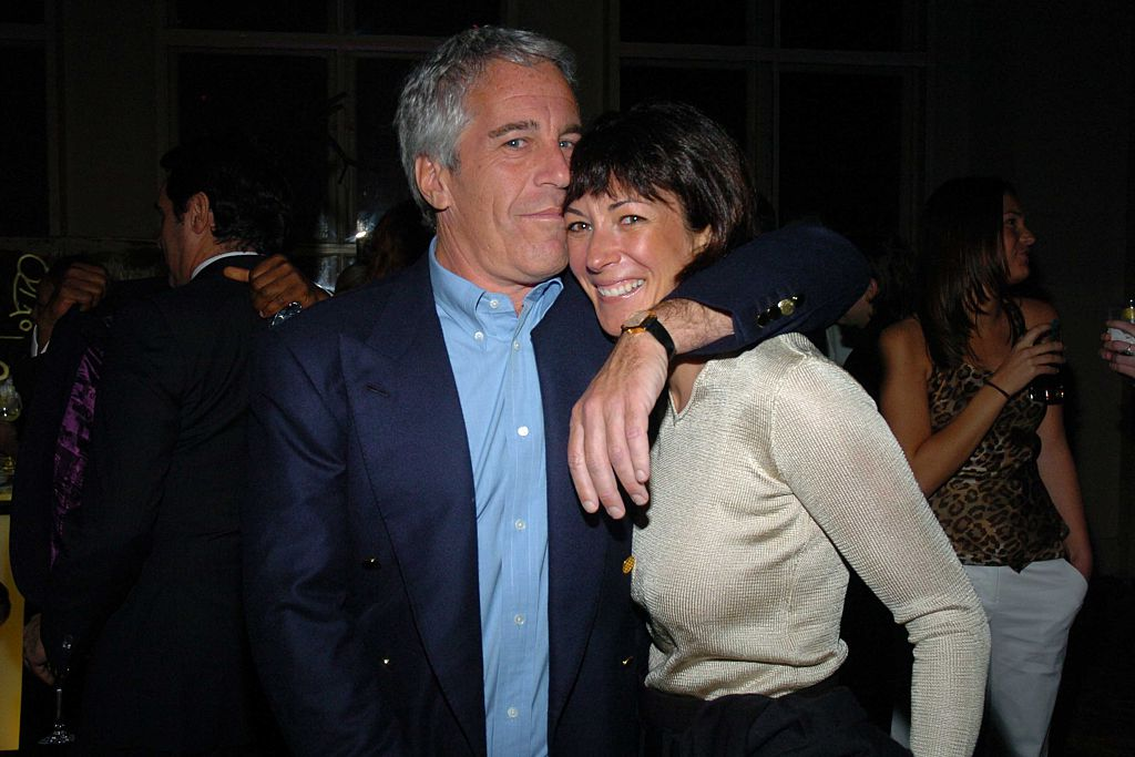 Jeffrey Epstein and Ghislaine Maxwell at a benefit in March 2005 in New York City.