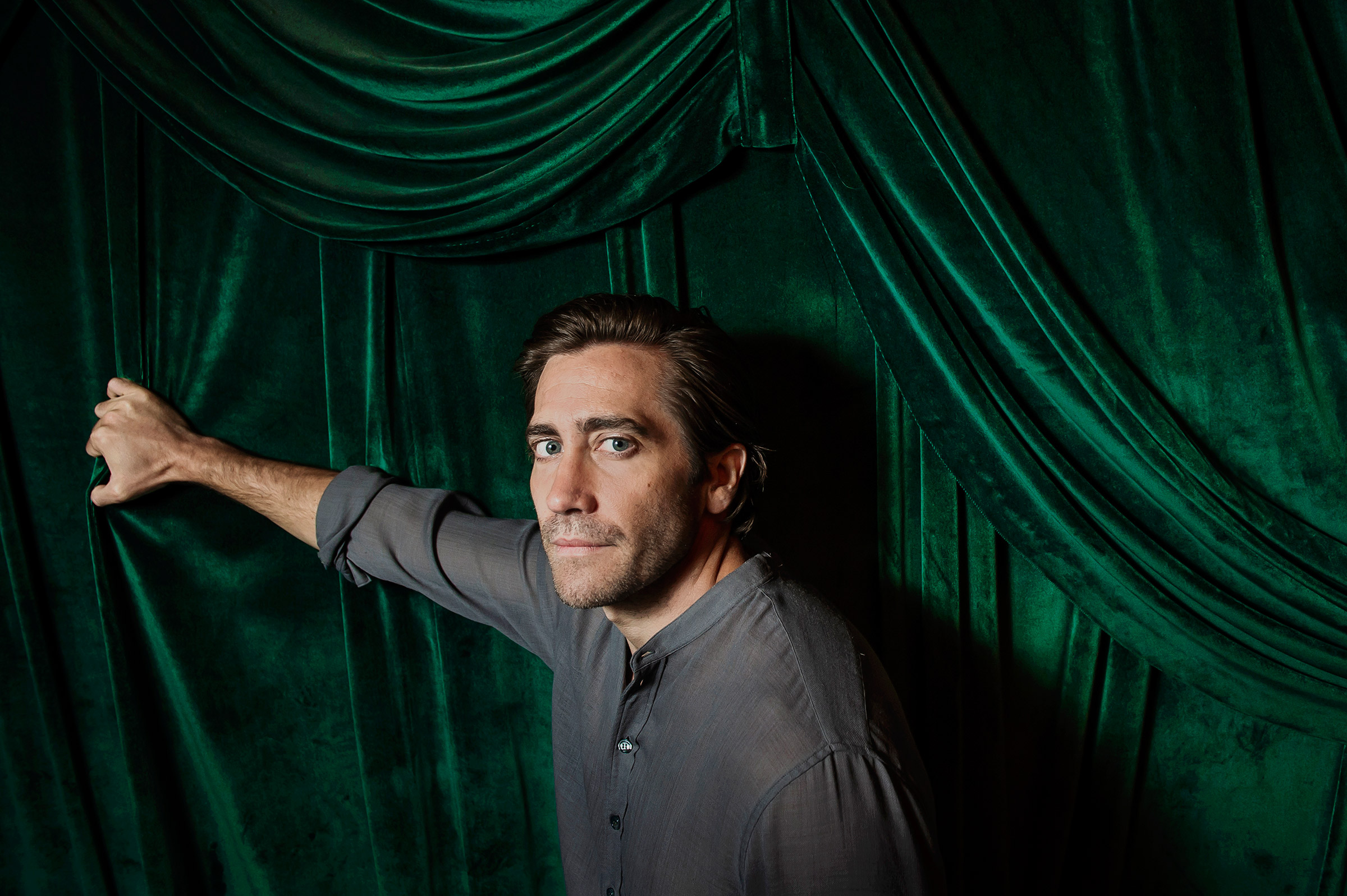 """""""To me, the more interesting thing is that we also need to be careful about the myths that we tell. And who we believein,"""" says actor Jake Gyllenhaal."""