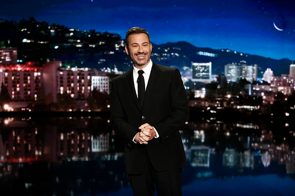 Jimmy Kimmel Live! airs every weeknight at 11:35 p.m. EDT and features a diverse lineup of guests that include celebrities, athletes, musical acts, comedians and human interest subjects, along with comedy bits and a house band.