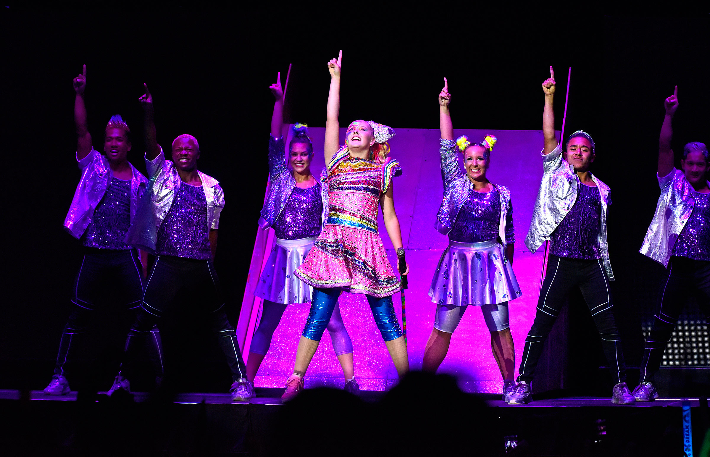 JoJo performs in Anaheim, Calif., on Aug. 13, one of 89 stops on JoJo Siwa D.R.E.A.M. the Tour.