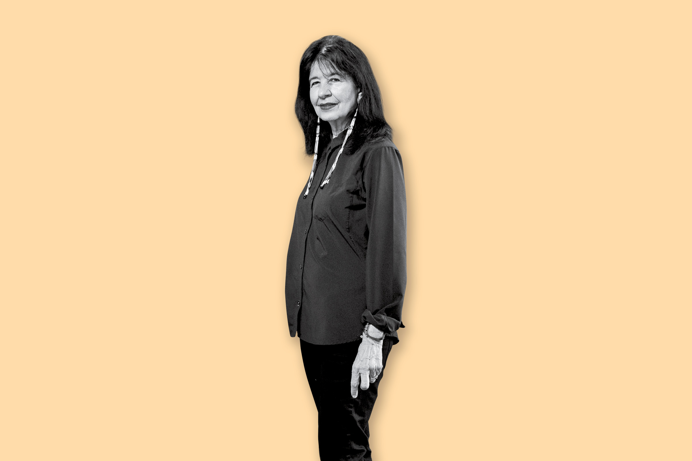 """We need something to counter the hate speech, the divisiveness, and it's possible with poetry,"" says Joy Harjo, the first Native American U.S. poet laureate."