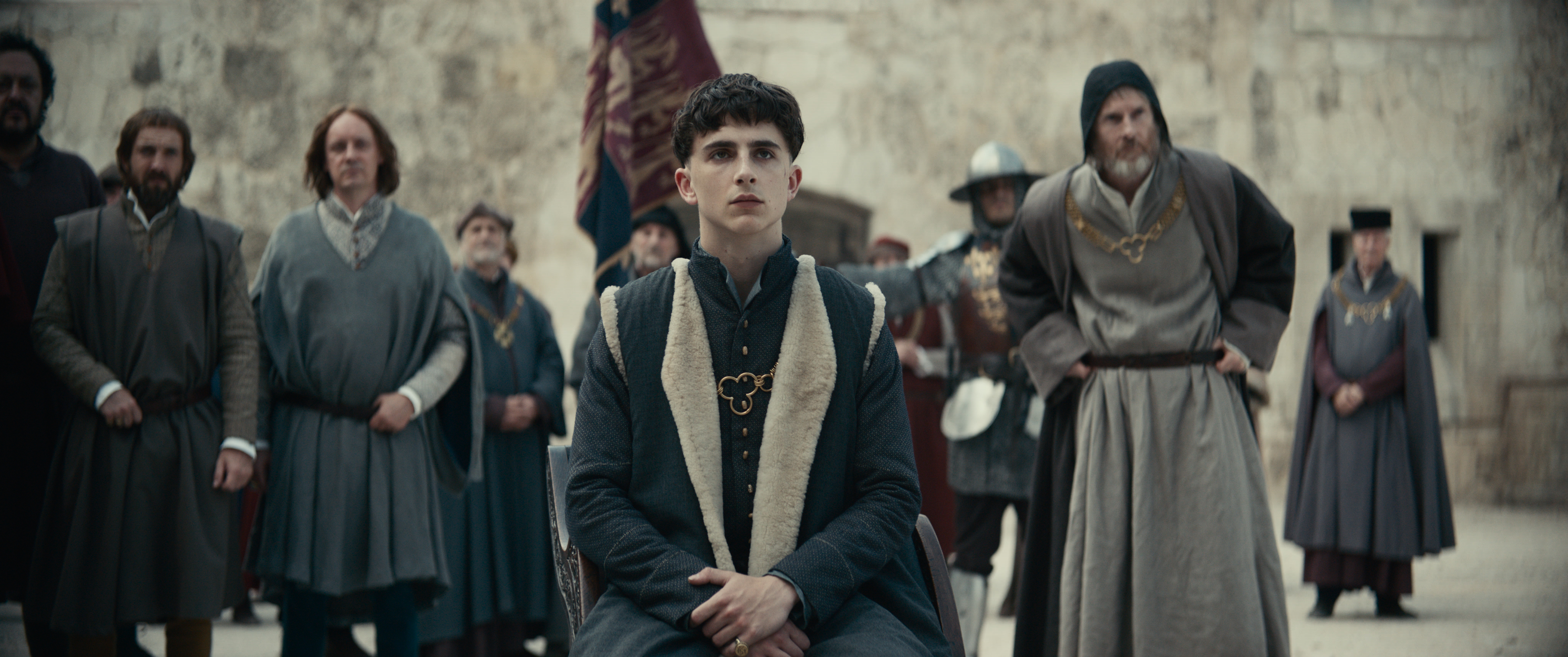 Timothée Chalamet in 'The King'