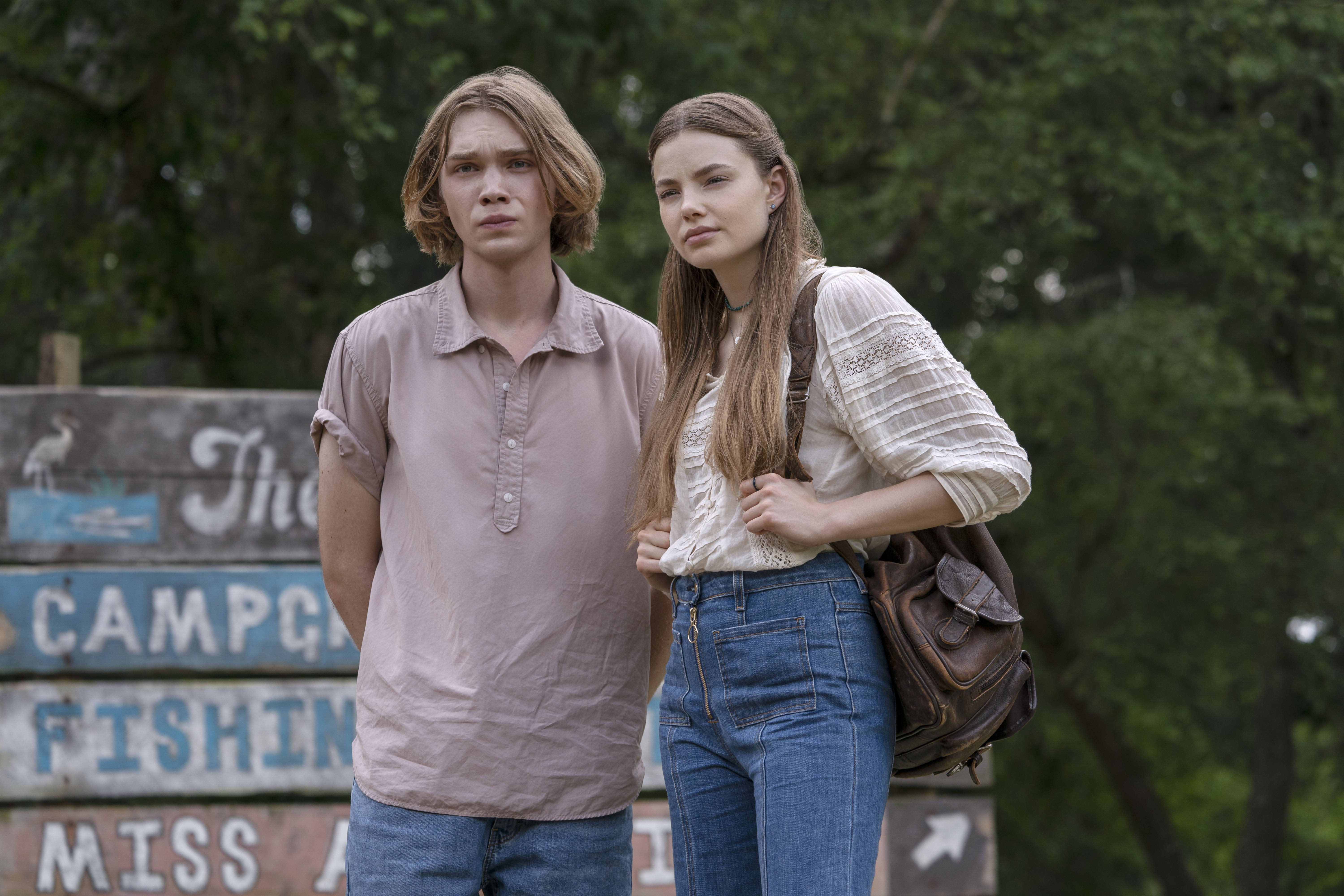 Charlie Plummer and Kristine Froseth in Looking for Alaska