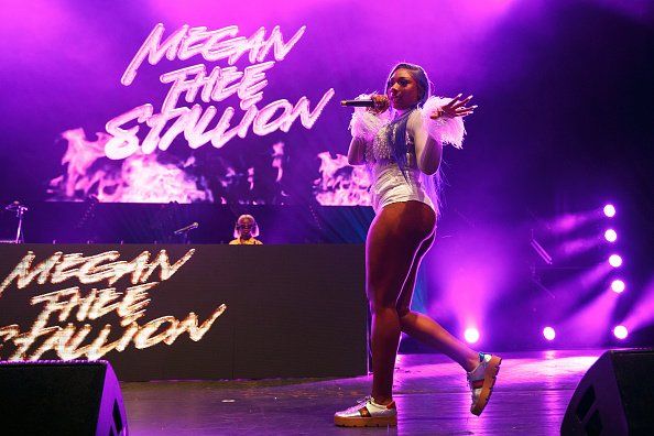 Megan Thee Stallion performs on stage at O2 Academy Brixton in London, England on July 03, 2019.