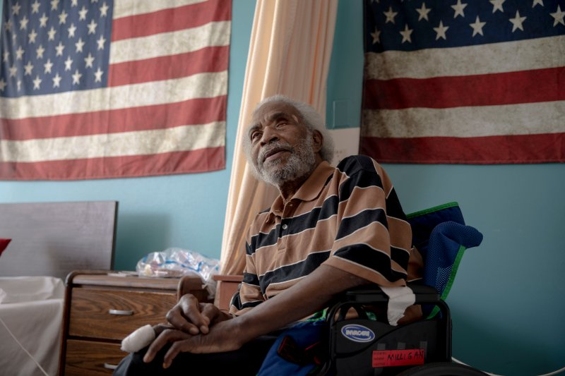 When Army veteran Eugene Milligan fell off a charity's rolls for home-delivered Meals on Wheels because of a long stay in the hospital last winter, he had to rely on others such as his son, a local church and a generous off-duty nurse to bring him food.