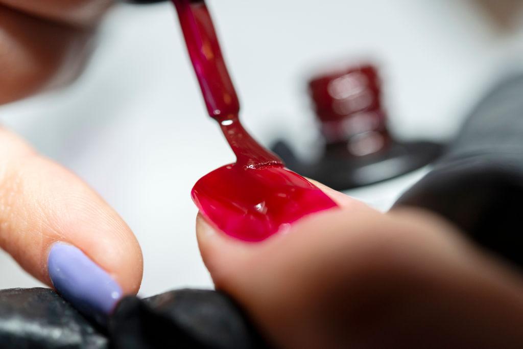 Nail technician: nail care and semi-permanent nail polish.