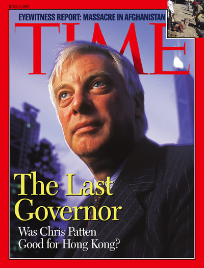 Q&A: Chris Patten on China's 'Terrible Mistake' in Hong Kong ...