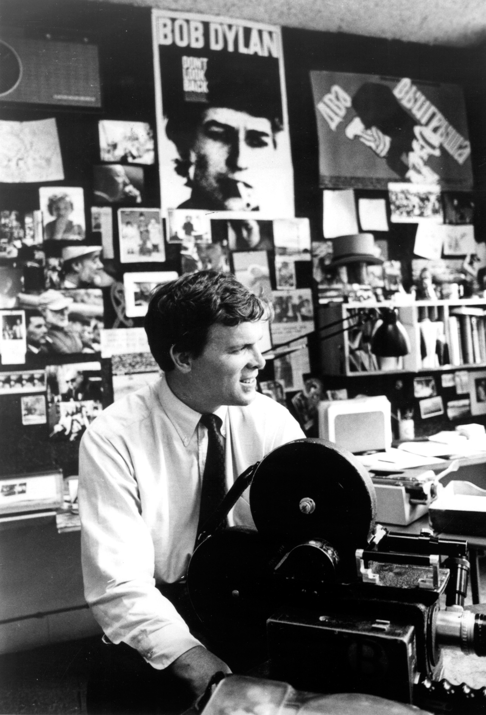 Pennebaker in 1967, the year his film Dont Look Back was released.
