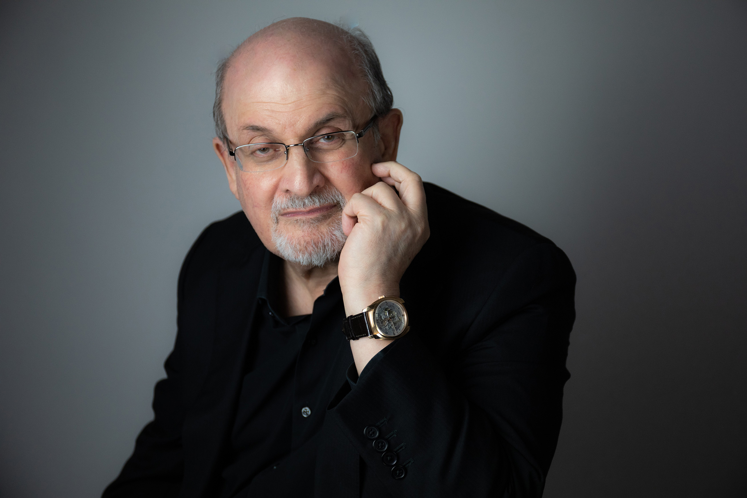 Literary lion Rushdie's new novel, set in modern-day America, takes on the story of a man like Don Quixote.