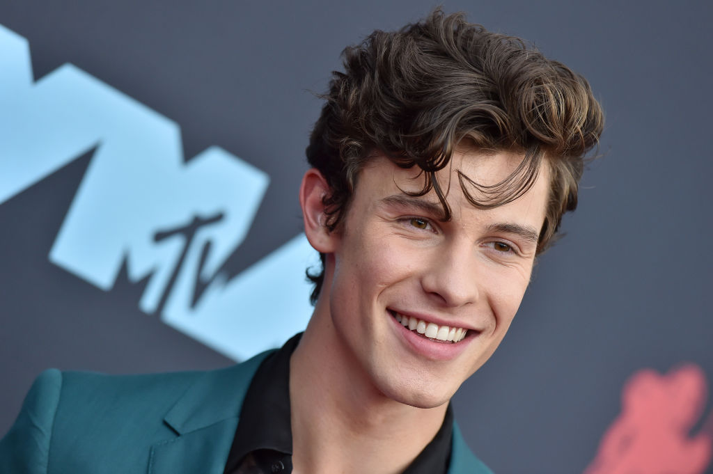 Shawn Mendes attends the 2019 MTV Video Music Awards at Prudential Center on August 26, 2019 in Newark, New Jersey.