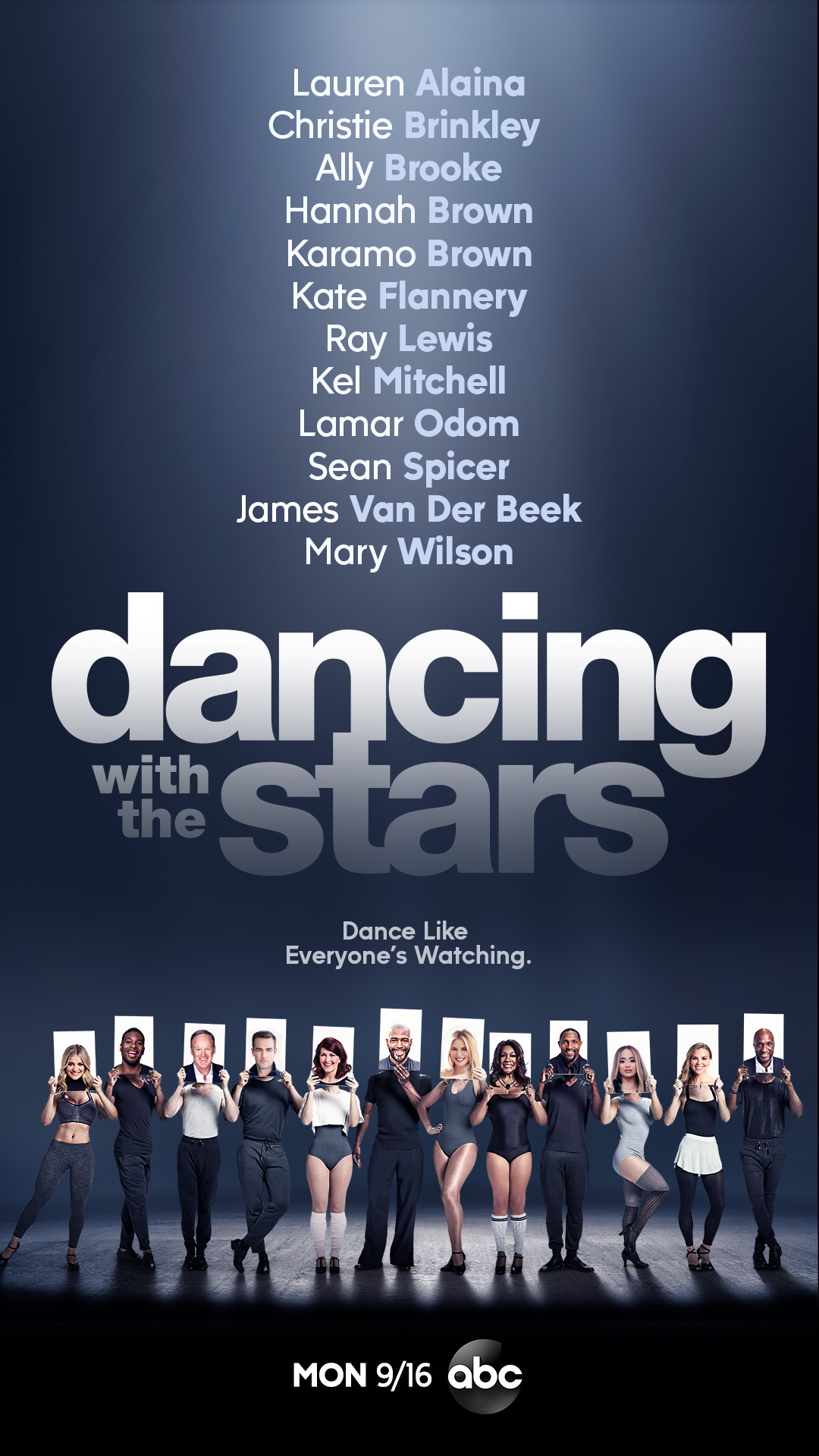 With a lineup of celebrities including a supermodel, a former White House press secretary, a Bachelorette, pro-athletes from the NFL and NBA, a Supreme and a TV icon to name a few,  Dancing with the Stars  is waltzing its way into its highly anticipated upcoming 2019 season.