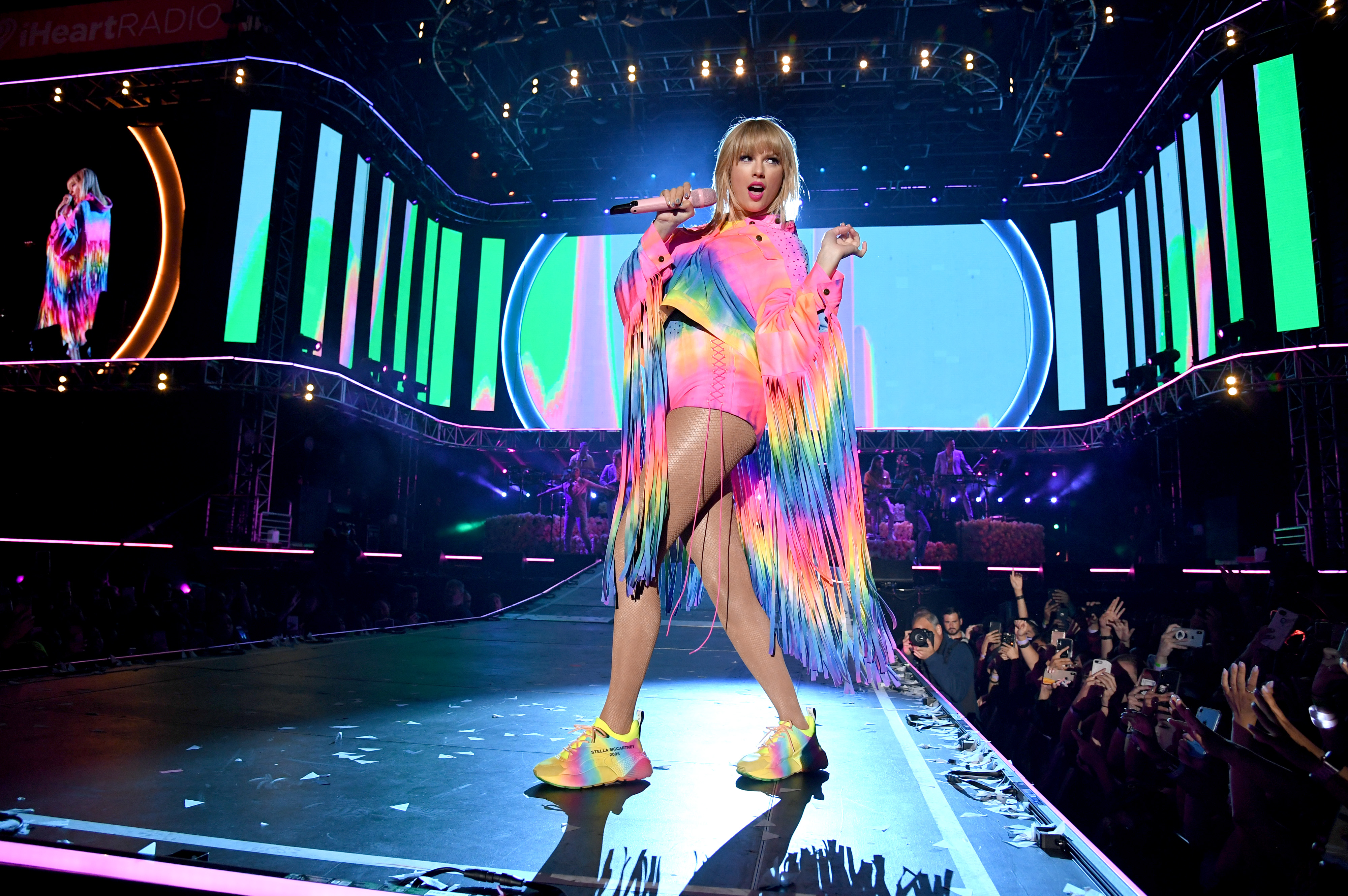Taylor Swift performs onstage at 2019 iHeartRadio Wango Tango on June 01, 2019 in Carson, California.
