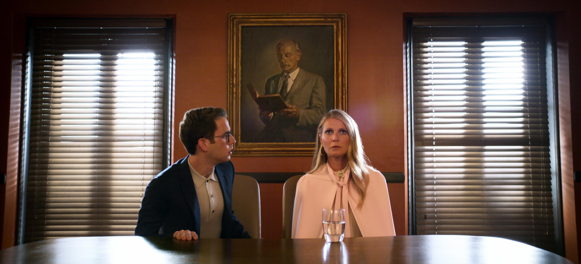 Ben Platt and Gwyneth Paltrow in 'The Politician.'